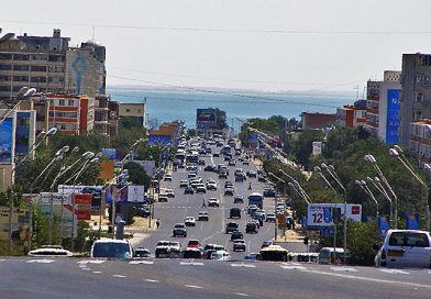 Актау — единственный морской порт Казахстана на Каспийском море