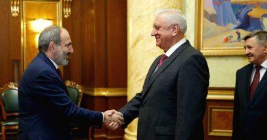 Единый рынок энергоносителей в ЕАЭС надо развивать – Пашинян на встрече с Мясниковичем