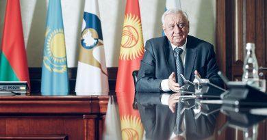 Председатель Коллегии ЕЭК Михаил Мясникович, 19.03.2020