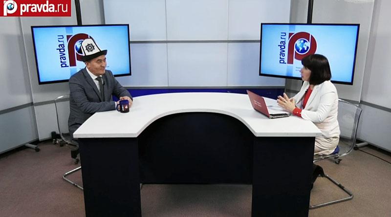 ФОТО: Александр Дмитриевич СОБЯНИН, эксперт Фонда содействия евразийской интеграции (слева